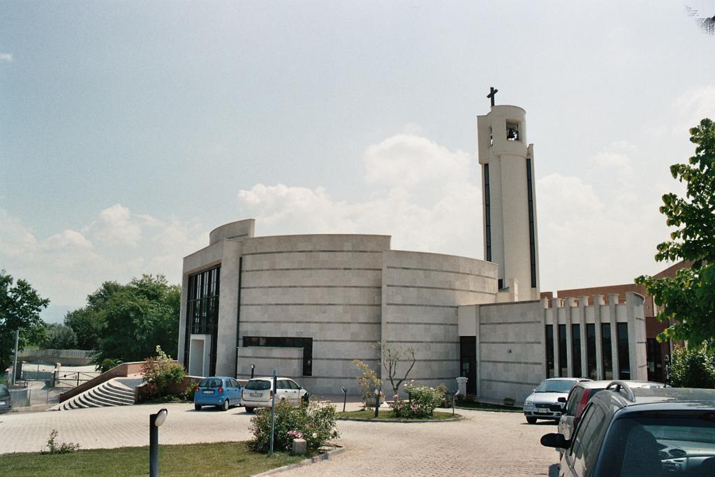 Chiesa S.Maria dell'Orazione Setteville Nord Guidonia